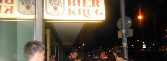 Letztes Konzert im Bierkrug Heilbronn