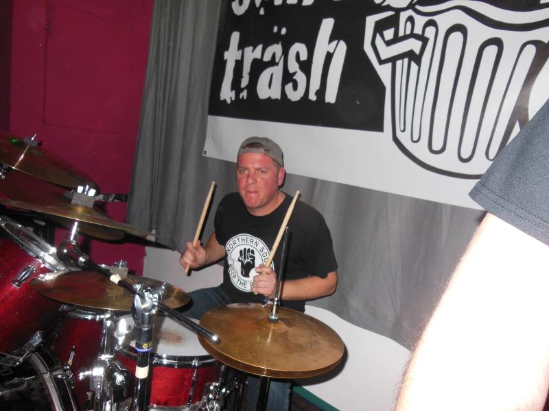 Den Schlagzeuger nicht vergessen