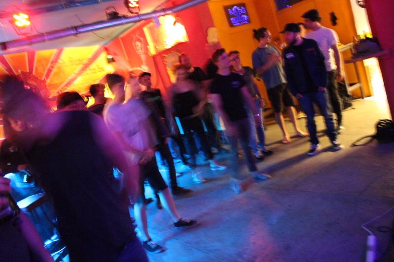 Wer tanzt, ist unscharf