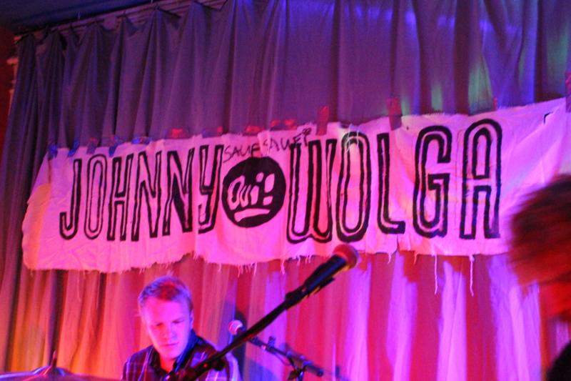 Liebenswertes Detail: handgemaltes Band-Banner