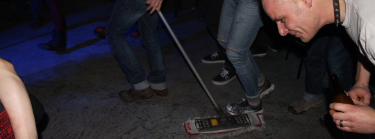 Hausverwaltung und Terrorfett in der Emma 23 Heilbronn
