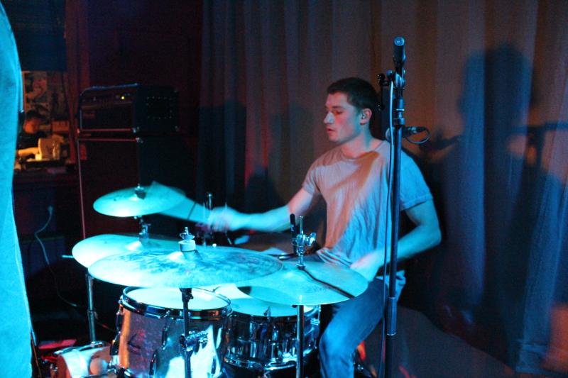 Der Schlagzeuger ohne Matte