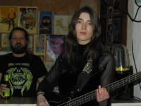 Bassistin der Moonwalks