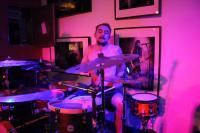 Der Schlagzeuger von One Eyed Jack - in Trance?