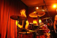 Drummer Flo in Aktion